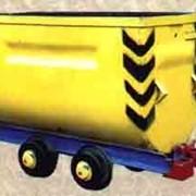 Вагонетка шахтная ВГ 1,6 фото