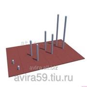 Оборудование для воркаута Столбики для отжиманий (Ворка́ут ) 3,5х0,5х2,3м фото