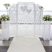 Украшения и ажурные декорации для свадьбы фото