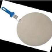 Поднос круглый для пиццы с пластик. ручкой Gimetal фото