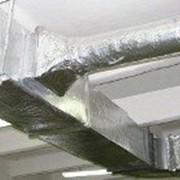 Конструктивная огнезащитная система ОГНЕМАТ ВЕНТ для воздуховодов фото