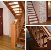 Лестница классическая фото