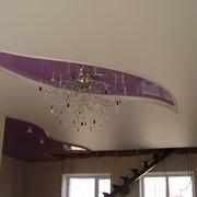 Декорирование натяжных потолков фото
