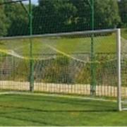 Сетка футбольная Sport PP 3 мм, 7,5х2,5/0,8*2,0m,белая фото