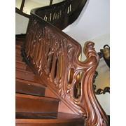 Лестницы деревянные. Классика фото