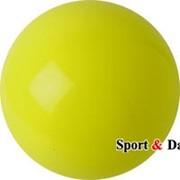Мяч желтый,16см, вес 320 гр. фото