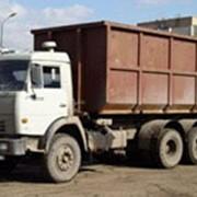 Вывоз мусора бункерами 20—26 куб.м. фото