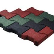 Резиновая плитка и брусчатка PlayMix фото