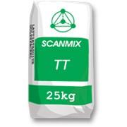 """Шпаклевка стартовая для внешних и внутренних работ """"SCANMIX TТ"""" (белая) на цементной основе,25кг фото"""