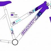 Велосипед Gravity Женский: AURORA LADY Сиреневый фото