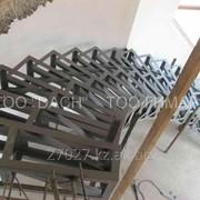 Кованая металло-конструкция 4 фото