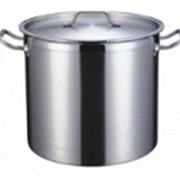 Котел 33 литра, 36х36 см, нержавеющая сталь фото