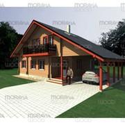 Строительство загородных домов, дерево, смерека, пихта фото