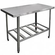 Стол разделочный кухонный 1000х700x600 мм фото