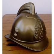 Каска шлем пожарного 1920г фото