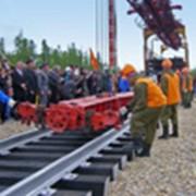 Железнодорожное строительство фото