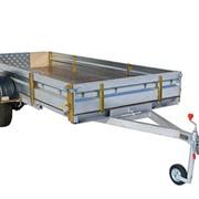 Автомобильный прицеп КМЗ 8284 50 (51) для перевозки снегоходов, мототехники фото
