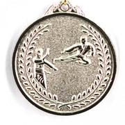 Медаль карате - серебро фото