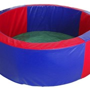 Сухой бассейн круглый 130*40 см фото