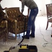 Услуги химчистки мебели на дому фото