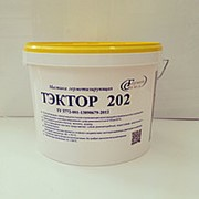 Герметик двухкомпонентный полиуретановый ТЭКТОР 202 белый, 12,5кг фото