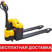 Тележка гидравлическая, электро г/п 2-5т. фото
