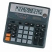 Калькулятор CITIZEN SDC-660II, 16 разрядный, настольный фото