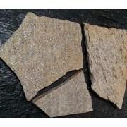 Природный камень Кварцит серый 60-70мм фото