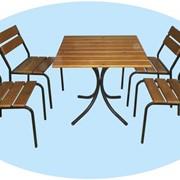 Мебель для летнего кафе и уличных площадок фото