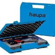 "Комплект ""Quadro"" в пластиковом чемодане Haupa фото"