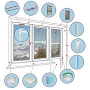 Комплектующие к окнам ПВХ фото