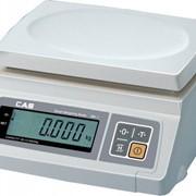 Весы CAS SW-5W (влагозащищенные) фото