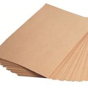 Крафт бумага в листах фото