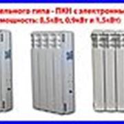 Нагреватель парокапельного типа - ПКН с электронным блоком управления алюминиевые секции фото