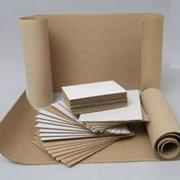 Бумага целлюлозная упаковочная крафт пл.120-135 г/м2 рулонная и листовая фото