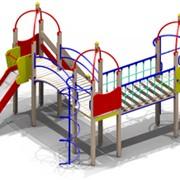 Уличный спортивно-игровой комплекс Зарница для детей 6-12 лет фото