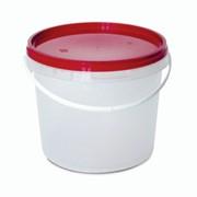 Ведро пластиковое круглое 3,4 л. фото
