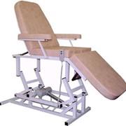 Кресло косметологическое 3-х секционное с электроприводом (Россия) фото