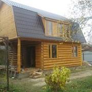 Строительство домов и бань из дерева фото