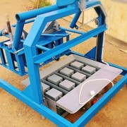 Вибростанок для производства шлакоблоков ВШМ-4В(МОД) фото