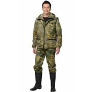 Костюм Охотник (куртка, брюки, жилет) КМФ Дубок зеленый фото