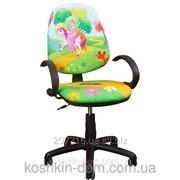 Компьютерное Кресло Поло 50/АМФ-5 Дизайн №15 Принцесса фото