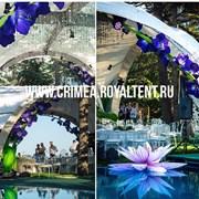 Шатры для свадьбы в Крыму, тенты, навесы,  фото