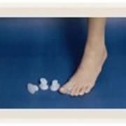 Силиконовая распорка для пальцев фото