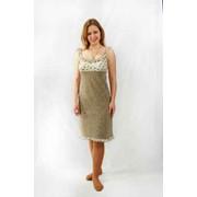 Сорочка женская с рюшками. Женские трикотажные сорочки фото