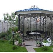 Беседки для сада под заказ в Киеве, строительство беседок, кованые беседки по самой низкой цене от производителя. фото