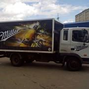 Оформление грузовых машин фото
