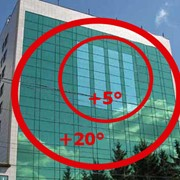 Архитектурная пленка (зеркальная) фото