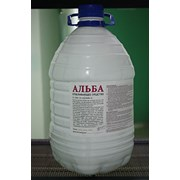 Отбеливатель  «Альба»  ПЭТ бутыль 4, 5л. фото