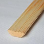Плинтус 32мм (ель), сорт В, гладкий/фигурный  фото
